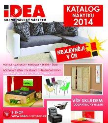 Akční leták IDEA nábytek - katalog 2014