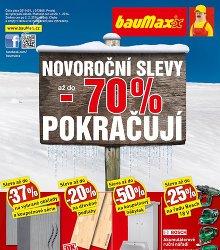 Akční leták bauMax Leden 2014