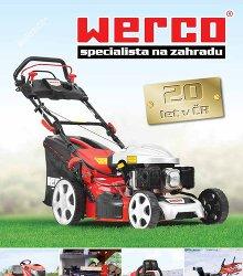 Akční leták Werco katalog jaro 2014