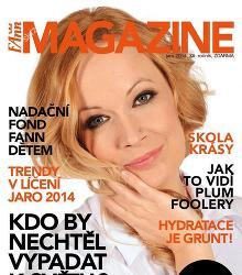 Akční leták FAnn magazine Jaro 2014