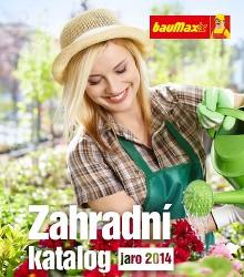 Akční leták bauMax Zahradní katalog - jaro 2014