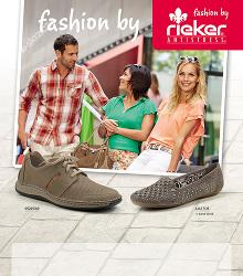 Akční leták Rieker kolekce 2014