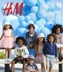 Akční leták H&M Děti jaro 2014