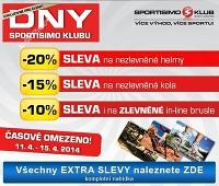 Sportisimo Dny Sportisimo klubu, 11. 4. – 15. 4. 2014