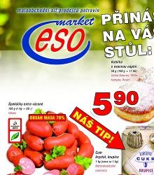 Akční leták ESO Market