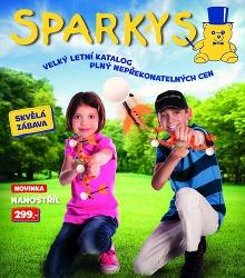 Akční leták Sparkys - Katalog Léto 2014
