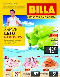 BILLA Speciální leták od středy 20. 8., 20. 8. – 26. 8. 2014