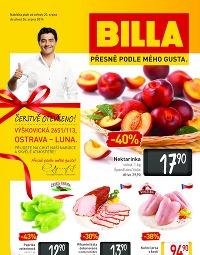 BILLA Leták Ostrava Luna od středy 20. 8., 20. 8. – 26. 8. 2014