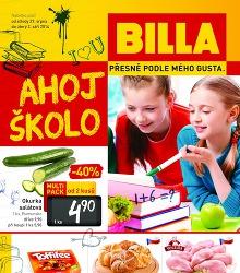 Akční leták BILLA Leták od středy 27. 8.