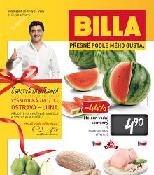 Akční leták BILLA Leták Ostrava od středy 27. 8.
