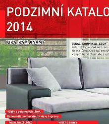Akční leták Kika Podzimní katalog 2014!