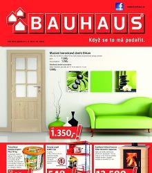Akční leták BAUHAUS Katalog září 2014