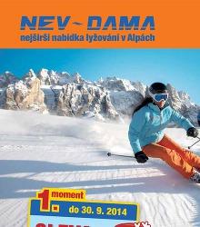 Akční leták Nev Dama katalog Zima 2014/15