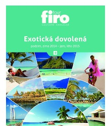 Akční leták Firo Tour Exotická dovolená podzim, zima 2014 ‒ jaro, léto 2015