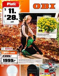 OBI od 11.9. do 28.9., 11. 9. – 28. 9. 2014