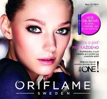 Akční leták Oriflame katalog 13