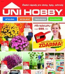 Akční leták Unihobby