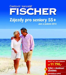 Akční leták CK Fischer Katalog Zájezdy pro seniory 55+