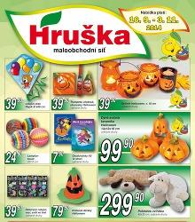 Akční leták Hruška katalog