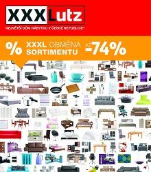 Akční leták XXXLUTZ - AŽ -74%