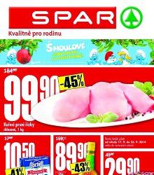 Akční leták Supermarket SPAR leták