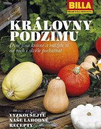 BILLA Leták Dýně královny podzimu, 30. 9. – 21. 12. 2014
