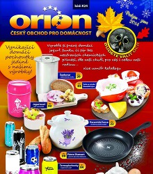Akční leták Orion katalog podzim / zima 2014