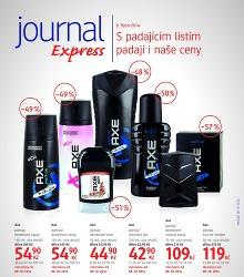 Akční leták dm Journal Express