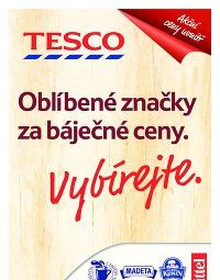 TESCO Leták, 22. 10. – 4. 11. 2014