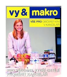 Akční leták Makro Vše pro občerstvení v kanceláři