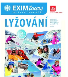 Akční leták Exim Tours lyžování 2014/2015