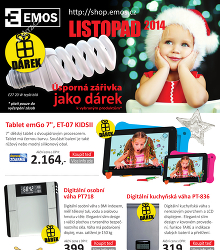 Akční leták Emos - Listopad 2014
