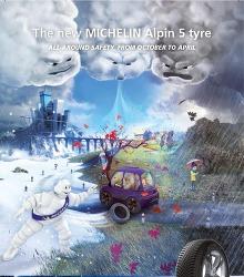Akční leták Michelin - Alpin