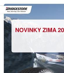 Akční leták Bridgestone - Novinky zima 2014