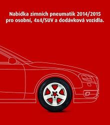 Akční leták Matador - Nabídka zimních pneumatik 2014/2015