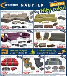 Akční leták Spectrum nábytek