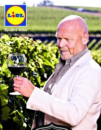 Lidl - Francouzská vína, nabídka od 13. 10. 2014