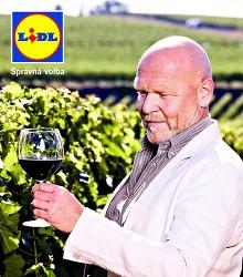 Akční leták Lidl - Francouzská vína