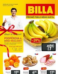 BILLA Leták Brno Medlánky od středy 26. 11., 26. 11. – 2. 12. 2014
