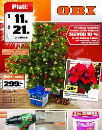 OBI od 11.12. do 21.12., 11. 12. – 21. 12. 2014