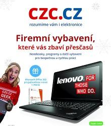 Akční leták CZC.cz - Firemní vybavení, které vás zbaví přesčasů
