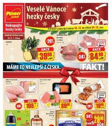 Akční leták Penny Market od čtvrtka 18.12.