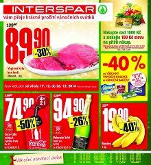 Akční leták INTERSPAR