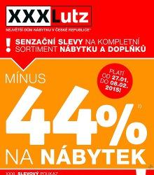 Akční leták XXXLutz XXXL - SENZAČNÍ SLEVY