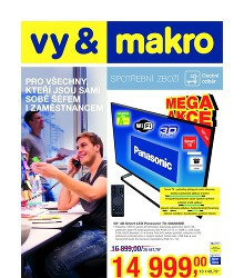 Akční leták Makro Spotřební zboží