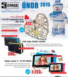 Akční leták Emos - Únor 2015