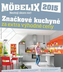 Akční leták MÖBELIX - Značkové kuchyně za extra výhodné ceny 2015