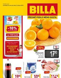 BILLA Leták od středy 25. 2., 25. 2. – 3. 3. 2015