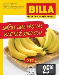 BILLA Speciální leták od středy 25. 2., 25. 2. – 3. 3. 2015