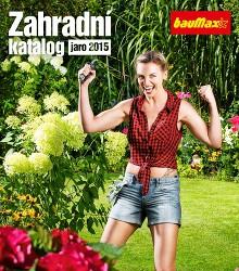 Akční leták bauMax Zahradní katalog - jaro 2015